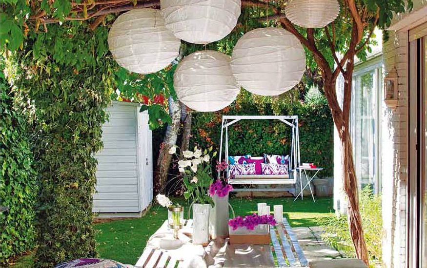 5 ideas para decorar tu terraza con estilo la habitaci n for Ideas para decorar patios y jardines