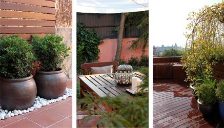 Especial dise o de jardines en ticos ideas para decorar for Ideas para decorar aticos